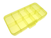 Components SMD Tool Parts Storage Box Case - Yellow