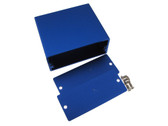 HQ Aluminum Project Box Enclousure 50*58*24mm - Blue