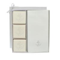 Eco-Luxury Courtesy Gift Set - Silver Anchor