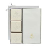 Eco-Luxury Courtesy Gift Set - Gold Anchor