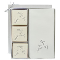 Eco-Luxury Courtesy Gift Set - Silver Deer