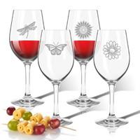 Tritan Wine Stems 12 oz (Set of 4): Garden