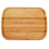 EVERYDAY BOARD: LARGE PERSONALIZED ADDRESS