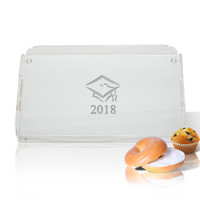 Personalized Acrylic Serving Tray - Graduation 2018