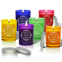 Gem Collection Soy Glass Candle - Home Is Where Your Mom Is