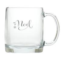 NOEL LARGE MUG (GLASS)