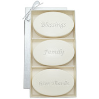 Signature Spa Trio - Aqua Mineral: Blessings, Family, Give Thanks