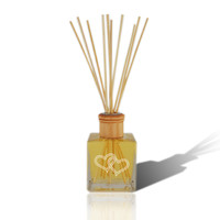Double Heart Reed Diffuser with Essential Oil