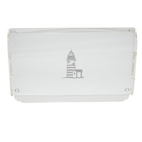 Acrylic Serving Tray - Lighthouse