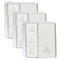 Signature Spa Courtesy Gift Set - Silver Christmas Tree (Set of 3)