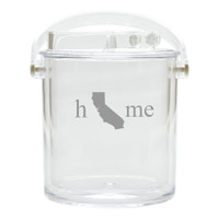 Insulated Ice Bucket with Tongs - Home State