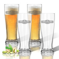 Tritan Pilsner 14 oz (Set of 4): Sports Food Drink Banner