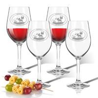 Tritan Wine Stems 12 oz (Set of 4) : Wild Game