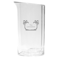 Personalized Iceless Wine Bottle Cooler - Palm Trees