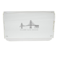 Acrylic Serving Tray - American Landmark