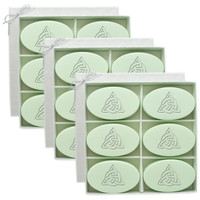 Signature Spa Inspire - Green Tea & Bergamot: Personalized with Celtic Knot (Set of 3)