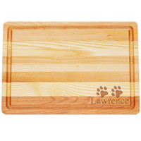 "Medium Master Cutting Boards 14.5"" X 10"" - Personalized Paws"