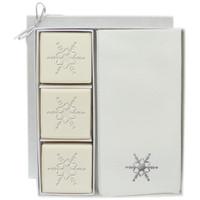 Eco-Luxury Courtesy Gift Set - Silver Snowflake