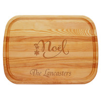Personalized Noel Large  Everyday Board