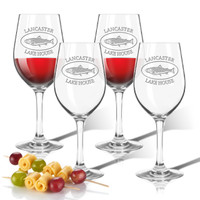 Tritan Wine Stems 12 oz (Set of 4) : Lakehouse and Trout