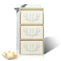 Signature Spa Trio - Limited Edition Lavender: Antler with Single Initial
