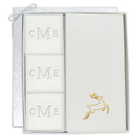 Signature Spa Courtesy Gift Set - Monogram and Gold Deer