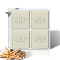 Eco-Luxury Mini Luxe - Antler with Single Initial