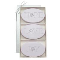 Signature Spa Trio - Lavender: Hope, Love, Joy, Snowflake