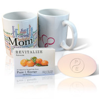 Pure Energy Apothecary Satsuma Soap and Mom Mug Set