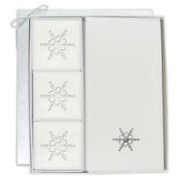 Signature Spa Courtesy Gift Set - Silver Snowflake