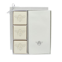 Eco-Luxury Courtesy Gift Set - Silver Bee