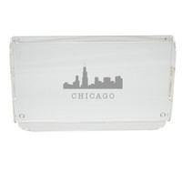 Acrylic Serving Tray - Skyline