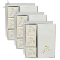 Eco-Luxury Courtesy Gift Set - Gold Reindeer (Set of 3)