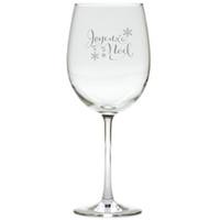 JOYEUX NOEL WINE STEMWARE - SET OF 4 (GLASS)