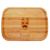 "EVERYDAY BOARD: 21"" x 15"" LARGE PERSONALIZED DOG"