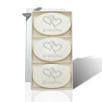 Signature Spa Trio - Aqua Mineral: Double Hearts for Grandma on Mother's Day