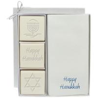 Eco-Luxury Courtesy Gift Set - Blue or Silver Hanukkah Mix