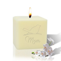 "3"" Soy Pillar Candle - Songbird For Mom"