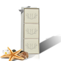 Eco-Luxury Mini Hostess - Antler with Single Initial
