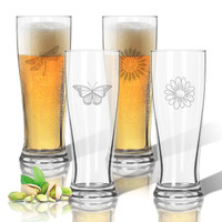 Tritan Pilsner 14 oz (Set of 4): Garden