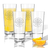 Tritan Highball (Cooler) Glasses 16 oz (Set of 4) GPS Coordinates