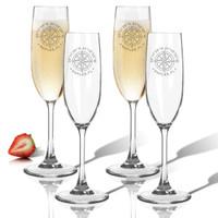 Tritan Champagne Flutes 6.5oz (Set of 4) GPS Coordinates