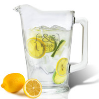 ICON PICKERPERSONALIZED PITCHER  (GLASS)(Prime Design)