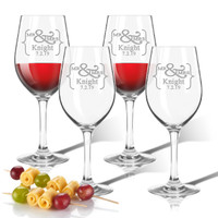 ICON PICKER Personalized Tritan Wine Stems 12 oz (Set of 4)(Prime Design)