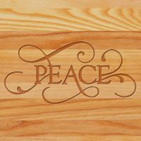 Cutting Board - Personalized (PEACE)