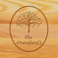 Cutting Board - Personalized (TREE OF LIFE)