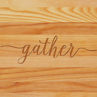 Cutting Board - Personalized (GATHER)