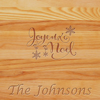 Cutting Board - Personalized (joeux noel name)