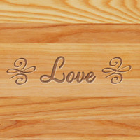 Cutting Board - Personalized (LOVE)