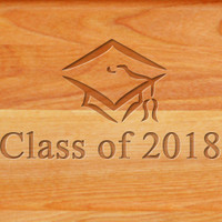 Cutting Board - Personalized (GRADUATION CAP)